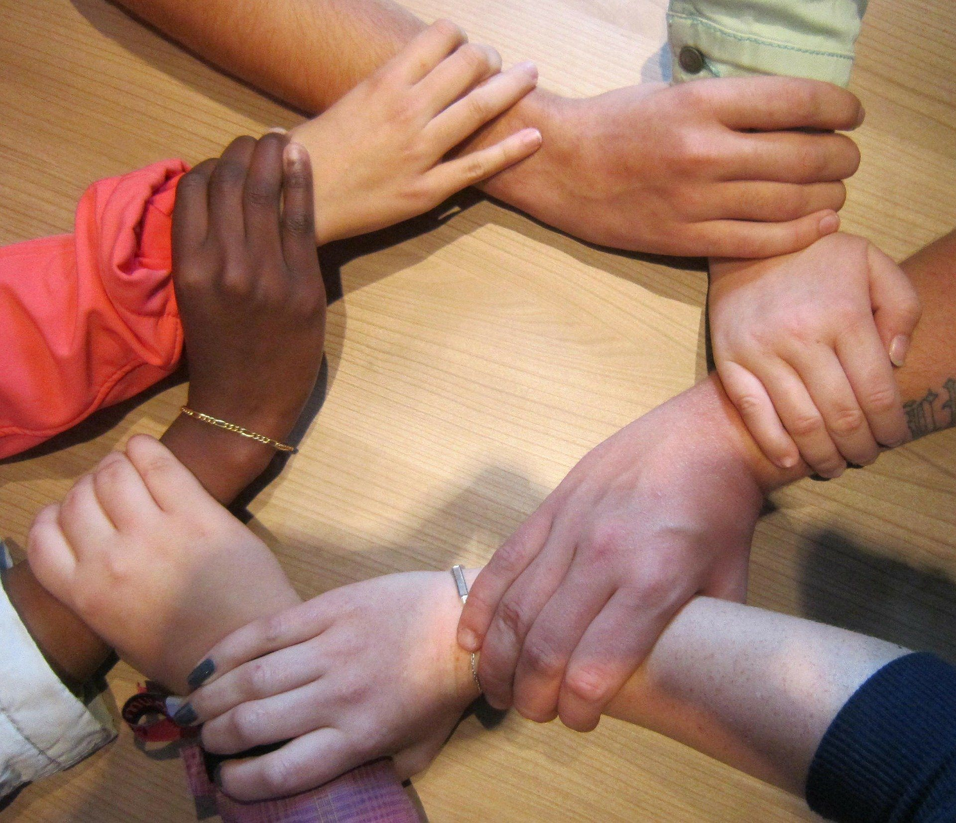 Each of us can be the hands of God